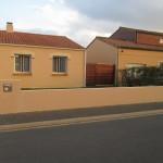 Muret façade avant travaux